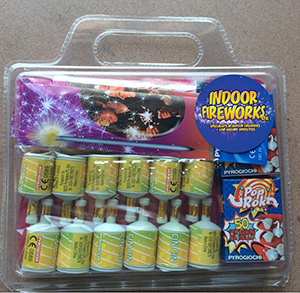 INDOOR FIREWORKS FAMILY PACK