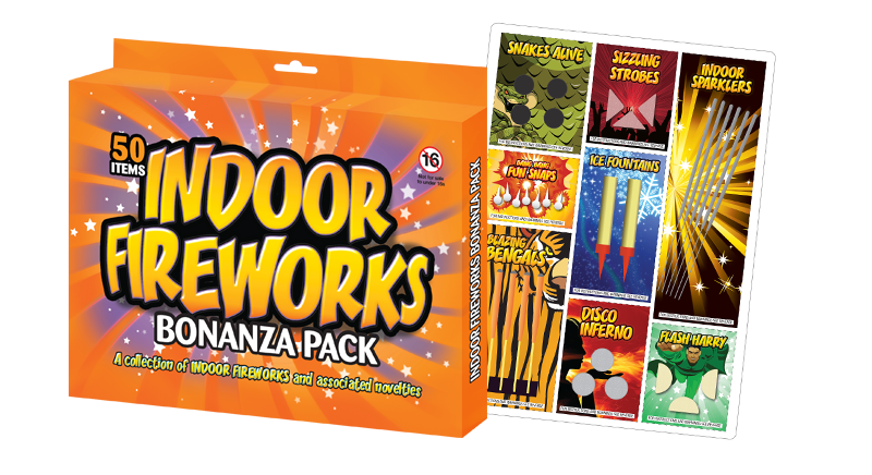 Indoor Firework Packs
