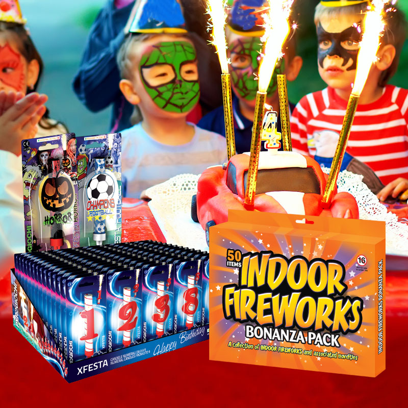 Indoor Fireworks Wholesale Products