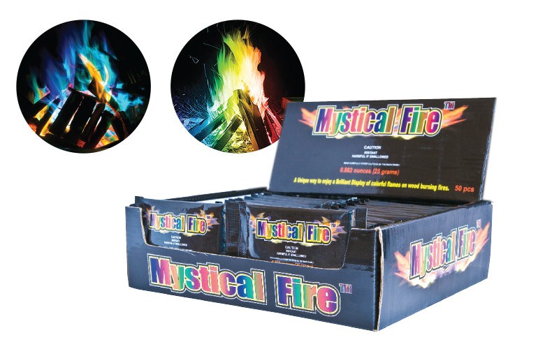 MYSTICAL FIRE™ Flame colour changing granules
